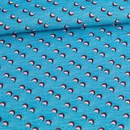 Afbeelding van We Want Waves - M - Levendig Blauw