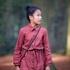 Bild von Seeds - M - Baumwolle Gabardine Twill - Marsala Rot