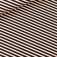 Picture of Diagonals - M - Cotton Canvas Gabardine Twill - Black & White & Copper