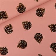 Bild von Pine Cones - M - French Terry - Bräunliches Cameo Rosa