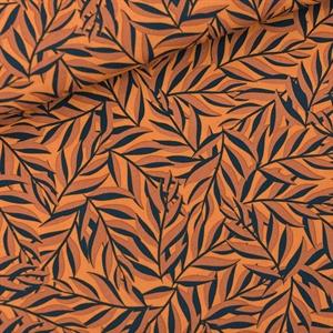 Picture of Leaves - M - Viscose - Rayon - Buckskin Yellow