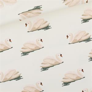 Bild von Swan - L - French Terry - Wolkenweiß