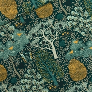Image de Oriental Garden - M - Viscose Rayon - Vert pignon